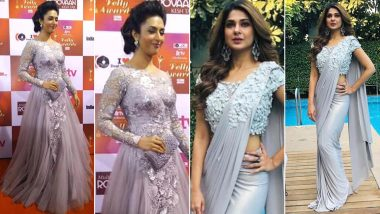Navratri 2020 Day 1 Colour Grey: Jennifer Winget or Divyanka Tripathi Dahiya, Whose Simple Styling Will You Like to Emulate? Vote Now