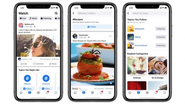 Facebook Rolls Out New Features to Find Videos on Its Watch Platform