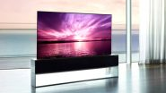 LG Signature OLED R, World's First Rollable Smart TV Launched