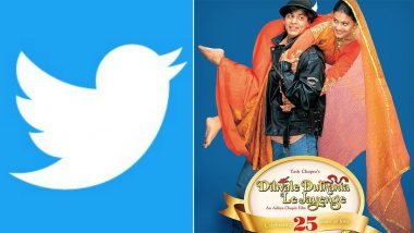 Twitter Launches DDLJ Special Emoji to Celebrate Milestone of Bollywood Film