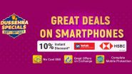 Flipkart Dussehra Specials Sale 2020: Live Discounts & Offers on iPhone 11 Pro, Poco M2, Galaxy F41, Narzo 20 Pro & More