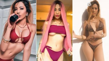 Sakshi Chopra Hot Pics: From Donning Racy Lingerie & Tiny Bikini to Going Butt-Naked, 6 Times Ramanand Sagar's Great-Granddaughter Gave Us The Most Sensuous Looks