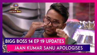 Bigg Boss 14 Episode 19 Updates | Oct 28 2020: Jaan Kumar Sanu Apologises