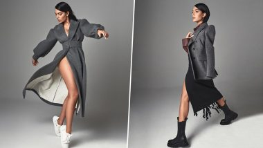 Georgina Rodriguez Looks Pipin' HOT as She Poses in a Sexy Overcoat Flaunting Her Perky Peaches! Fans Drool over Model's Latest Looks