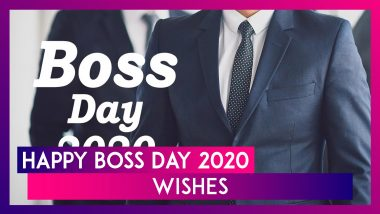 Happy Boss Day 2020 Wishes: WhatsApp Messages, Gratitude Quotes To Send Your Seniors And Employers