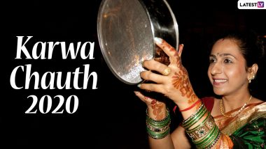 Karwa Chauth 2020 Date, Significance, Shubh Muhurat & Rituals: Know More About The Fast Women Keep For Their Husbands' Long Life