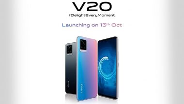 Vivo V20 Smartphone With 44MP Selfie Camera to Be Launched in India on October 13