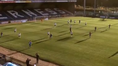 Artificial Intelligence Cameras Follow Referee's BALD HEAD Mistaking it For Football at a Scottish Soccer Game & Fans Cannot Stop ROFLing! (Watch Funny Video)
