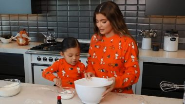 Kylie Jenner and Daughter Stormi Are Ready for Halloween 2020! Adorable Video of Mother-Daughter Early Baking Holiday-Themed Cookies Is Stealing Hearts