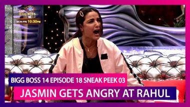 Bigg Boss 14 Episode 18 Sneak Peek 03 | Oct 27 2020: Jasmin Bhasin Gets Angry at Rahul Vaidya