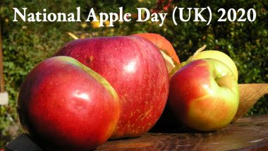 National Apple Day (UK) 2020: From Origin to Apple Seeds Being Poisonous, Here Are 7 Interesting Facts About This Delicious Fruit