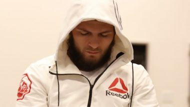 Khabib Nurmagomedov Remembers Father on his First Death Anniversary, Posts Video on Facebook