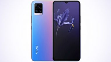 Vivo V20 Smartphone Now Available for Sale via Flipkart; Check Offers, Features & Specifications