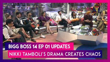 Bigg Boss 14 Episode 01 Updates | Oct 4 2020: Nikki Tamboli's Drama Creates Chaos