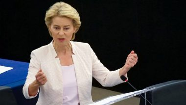 European Union Chief Von der Leyen Leaves EU Summit, Goes Into Quarantine After Her Staff Member Tests Positive For COVID-19