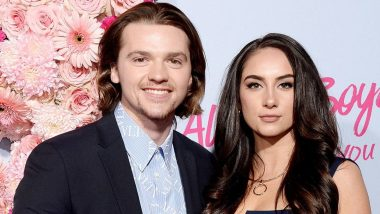 The Kissing Booth Star Joel Courtney Marries Longtime Lover Mia Scholink