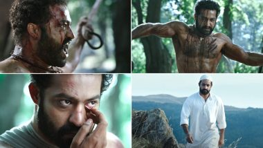 RRR: Jr NTR Looks Fierce as Komaram Bheem and His Bravura Act Will Leave You Spellbound (Watch Video)