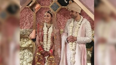 Kajal Aggarwal - Gautam Kitchlu Wedding First Pic Out! Couple Looks Royal in their Traditional Outfits