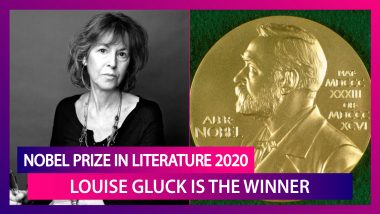Nobel Prize In Literature 2020: Louise Gluck, An American Poet Awarded For Her Unmistakable Poetic Voice