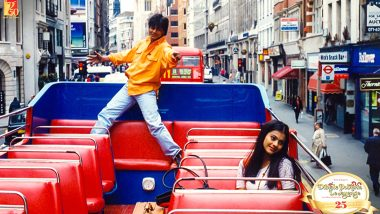 25 Years Of DDLJ: SRK and Kajol Become 'Raj and Simran' On Twitter!