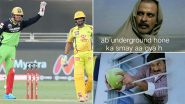 RCB Funny Memes and Jokes Go Viral After Chennai Super Kings Beat Virat Kohli's Team By 8 Wickets in IPL 2020