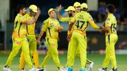 CSK Squad for IPL 2021: List of Retained & Released Players by Chennai Super Kings Ahead of Auctions