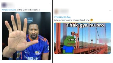 #ThakGyaHuBro Funny Memes & Jokes Trend on Twitter: From Being Tired of Online Classes to Single Life, See Netizens' Hilarious Take on the Phrase That Has Been MOOD This Year