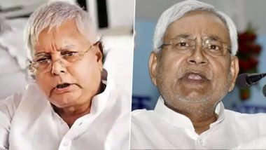 Lalu Prasad Yadav Takes a Jibe at Bihar CM, Says 'Nitish Became CM by Passing Exam in 3rd Division'