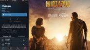 Mirzapur 2: Amazon Prime Video Surprises Fans, Drops The Whole Second Season Before It's Original Date