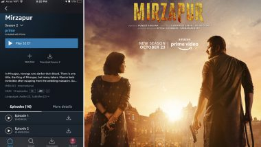 Mirzapur 2: Amazon Prime Video Surprises Fans, Drops 2 Episodes Before Premiere on October 23