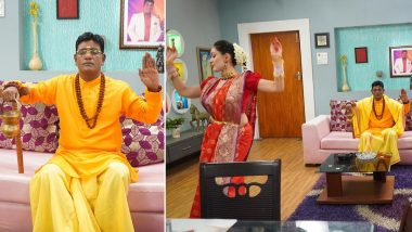 Taarak Mehta Ka Ooltah Chashmah Episode Update: Iyer Takes Up Meditation Until He Heards About the COVID-19 Vaccine, Babita Turns Into Menaka to Distract Him