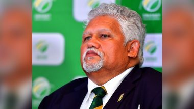 Beresford Williams, Acting President, Five Others Resign from Cricket South Africa Board