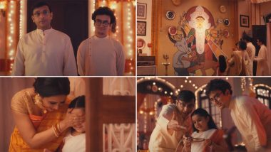 Durga Puja 2020: Asian Paints Ad of Mini's 'Pujo at Home' Melts a Million Hearts, Watch Viral 'Dugga Elo Ghawrey' Video