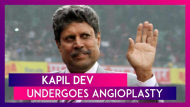 Kapil Dev Undergoes Angioplasty After Complaining Of 'Chest Pain', The Legendary Cricketer Is Discharged After Successful Operation