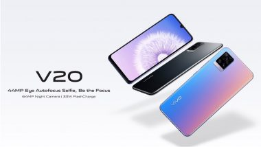 Vivo V20 Bags More Than 1 Lakh Pre-Bookings in Just 6 Days in India: Report