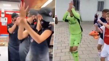 The 'Break Your Wrist' Challenge Is Here for a Terrific Tuesday! Know Everything About the Viral Trend That Sees 'Firangis' Dancing to Hit Song 'Sadi Gali' (Watch Videos)
