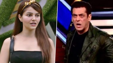 Bigg Boss 14: Salman Khan Loses His Calm and Blasts at Rubina Diliak for Not Doing the Task, Asks Her to Leave the Show