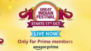 Amazon Great Indian Festival Sale 2020: HDFC Bank Partners With Amazon, Will Offer 10% Instant Discount From October 16 to 23