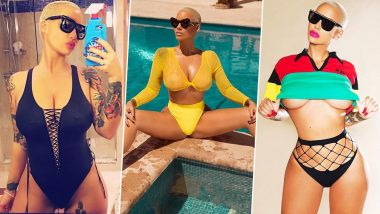 Happy Birthday Amber Rose: Wild and Fearless, 6 Sizzling Bikini Photos of the OnlyFans Model Who Loves to Push Boundaries With Her Bold Fashion Choices