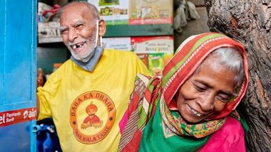 Baba Ka Dhaba's Kanta Prasad and Badami Devi Get Featured in Humans of Bombay, From Child Marriage to Running an Eatery, the 80-Year-Old Are Couple Goals!
