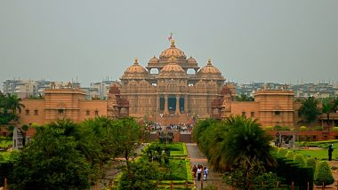 Delhi's Akshardham Temple to Reopen For Devotees From October 13; Wearing Face Masks And Maintaining Social Distancing Mandatory