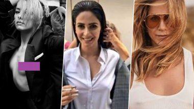No Bra Day 2020: From Jennifer Aniston & Saba Qamar to Kim Kardashian & Amber Heard, Celebs Who Freed the Nipples like a BOSS!