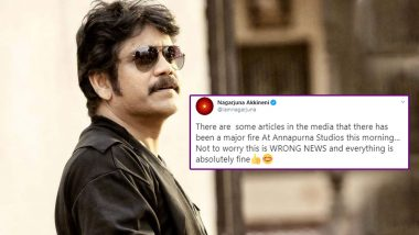 Bigg Boss Telugu 4 Host Nagarjuna Akkineni Dismisses Reports of Fire At Annapurna Studios (View Post)