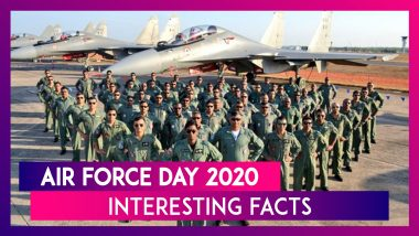 Air Force Day 2020: Know Date, History, Significance & Interesting Facts About The Indian Air Force (IAF) On Its 88th Founding Day