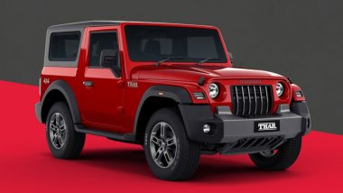 More Than 1,500 Units Mahindra Thar Diesel Model Recalled; Here's Why