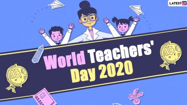 World Teachers' Day 2020 Images and HD Wallpapers for Free Download Online: WhatsApp Stickers, Facebook Messages and Greetings to Send to Your Teachers
