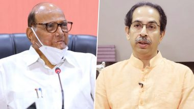 Temple Re-Opening in Maharashtra: Sharad Pawar Backs CM Uddhav Thackeray in War of Words Against Governor Bhagat Singh Koshyari