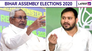 Bihar Assembly Elections 2020 Times Now-C Voter Opinion Poll: JDU-BJP to Retain Power, Chirag Paswan's LJP Not to Play Kingmaker