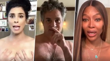Naked Ballot: Nude Amy Schumer, Mark Ruffalo, Tiffany Haddish, Chris Rock & Naomi Campbell Amongst Other Hollywood Celebs Explain the Critical Law Related to Mail-in Votes
