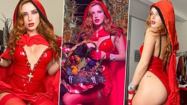 OnlyFans Star Bella Thorne Looks XXX-Tra HOT in a Butt-Flashing, Sexy Little Red Riding Hood Costume and We Think Halloween Couldn't Get Any Better! (Watch Tutorial Video)